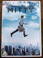 Ben Stiller THE SECRET LIFE OF WALTER MITTY ~ 2013 Comedy Adventure Film UK DVD