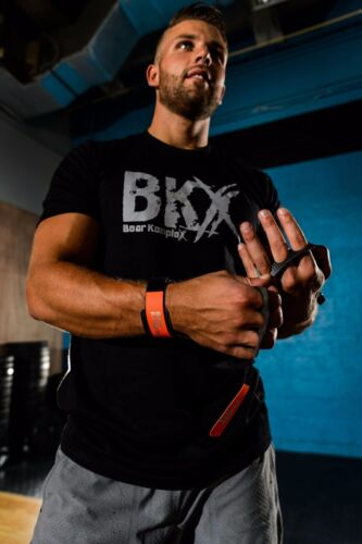 Bear KompleX Carbon Comp Grips2 HoleCrossFit Pull-up Gym Gloves