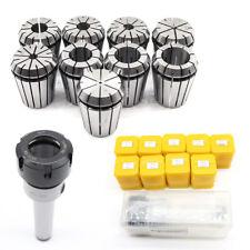 Precision Er32 Spring Collet Set Mt3 Shank Chuckampspanner For Cnc Milling Machine