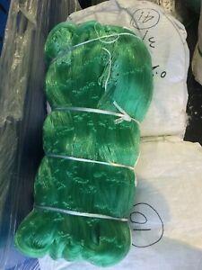 3 1/2 Pouces 50 Mesh (14.5 Ft (environ 4.42 M)) 600 Ft (environ 182.88 M) Long #139 Ficelle Taille Filet De Pêche/gill Net-afficher Le Titre D'origine