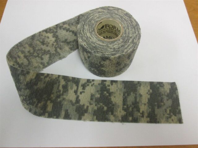 McNett Tactical Camo Form Protective Camouflage Wrap ACU First Aid Gun Hunt  Camp 43a1d0f15
