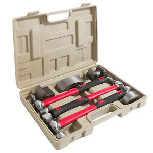 Ausbeulwerkzeug-Ausbeulhammer-Werkzeugset-Ausbeulgarnitur-Schlichthammer