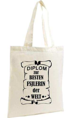 Organic Shopper Diplom zur besten FSJLERIN der Welt,