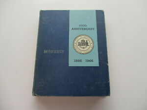 Moberly Missouri City History 100th Anniversary Growth Places People Vintage '66