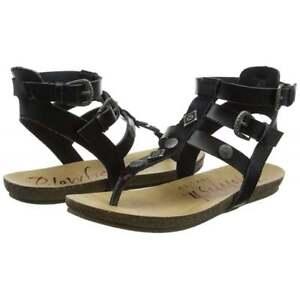 2db25d3937ee Image is loading Ladies-Girls-Blowfish-Glamm-Ankle-Strap-Gladiator-Sandals-