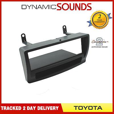 Soporte DIN de radio para Toyota Auris color negro Autoleads FP-11-12