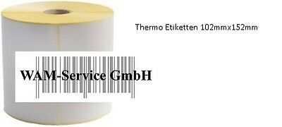 5 Rollen Thermo Etiketten 102mm*152mm 475 pro Rolle UPS,DHL /& DPD Versand