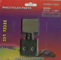 Atk Disc Brake Pads Atk406mx 1991-1992 Rear (1 Set)