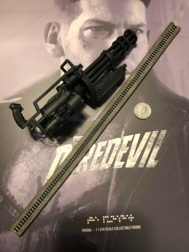 Hot Toys Daredevil Season 2 The Punisher M134 Mini Gun loose 1//6th scale