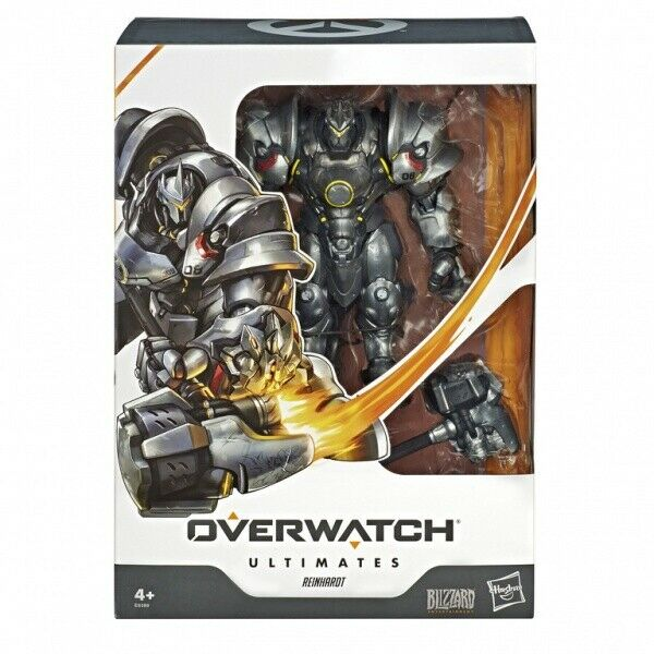 Overwatch Ultimates Reinhardt Wirkung Figure BRAND NEW
