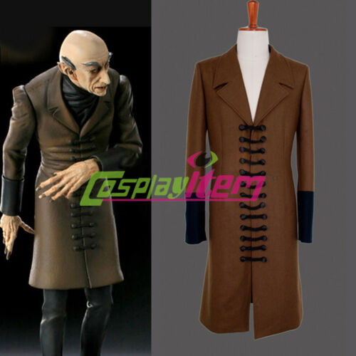 Nosferatu Phantom of the Night Cosplay Jacket Adult Men/'s Halloween Costume