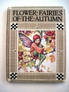 Vintage-034-Flowers-Fairies-of-the-Autumn-034-Hardback-Book-by-034-Cicely-Mary-Barker-034