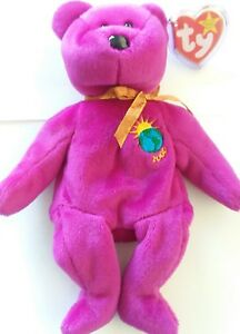 a86132242b0 Millennium beanie baby...mint condition...1999 TY with SOFT RIBBED ...
