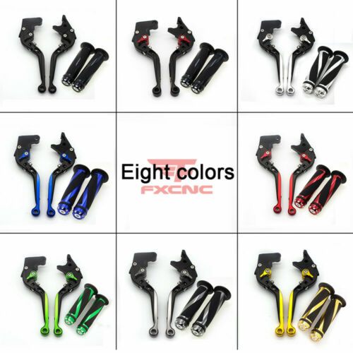 For SPEED TRIPLE 1997-2003 AMERICA 2004-2005 Extend Brake Clutch Levers Grips