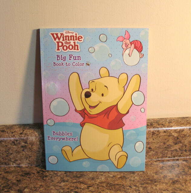 Disney Winnie The Pooh Coloring Book Ages 3 Friends Are Better Than Honey