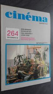 Rivista Cinema Dicembre 80 N° 264 Be