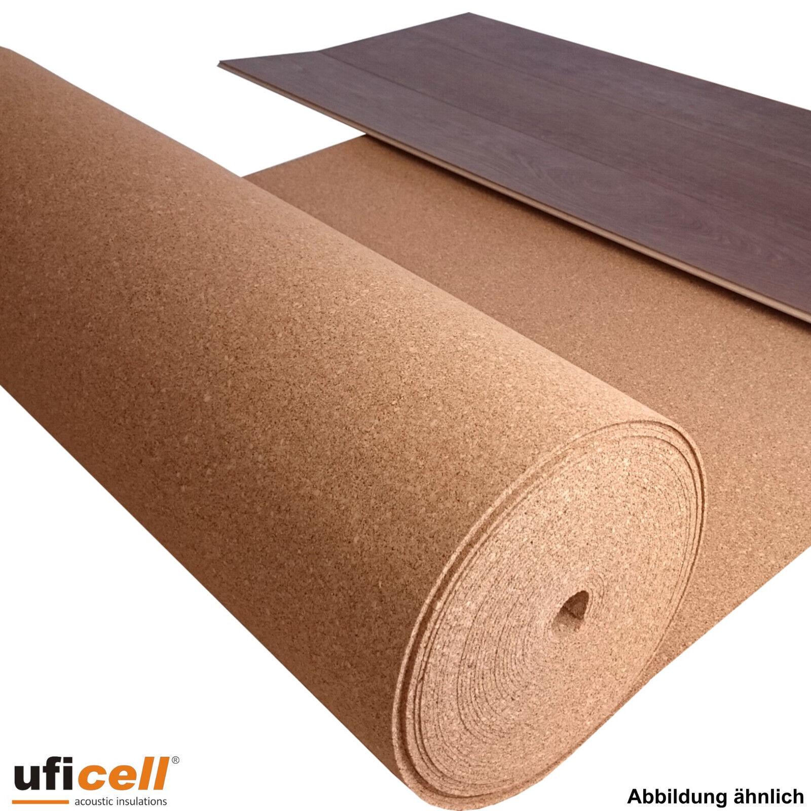Uficell Rollenkork Trittschalldämmung Stärke 2-10 mm Stärke - 17 bis 22 dB(A)