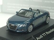 Wiking Audi TT Roadster, petrol blau, dealer model, PC 522 - 1:87