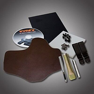 SLC DIY IWB Conceal & Carry Paddle Holster Kit: Hermann Oak Leather, Kydex,  DVD | eBay