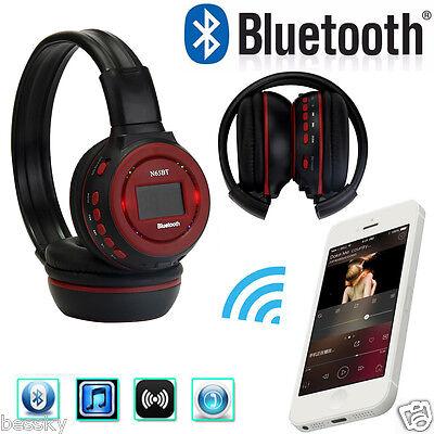 Wireless Bluetooth Foldable Headset Stereo Headphone Earphone&Mic For iPhone