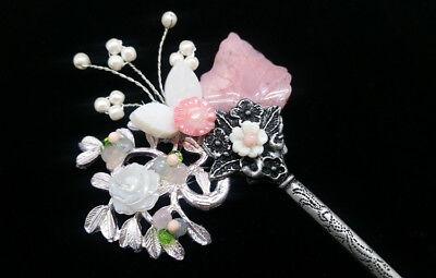 Hair Pin Korean Traditional Hair Accessory Hanbok Jewelry Chignon Binyeo 뒤꽂이 1