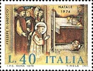 # ITALIA ITALY - 1974 - 40 Lire - Natale Christmas Noel Presepe - Stamp MNH - Italia - # ITALIA ITALY - 1974 - 40 Lire - Natale Christmas Noel Presepe - Stamp MNH - Italia