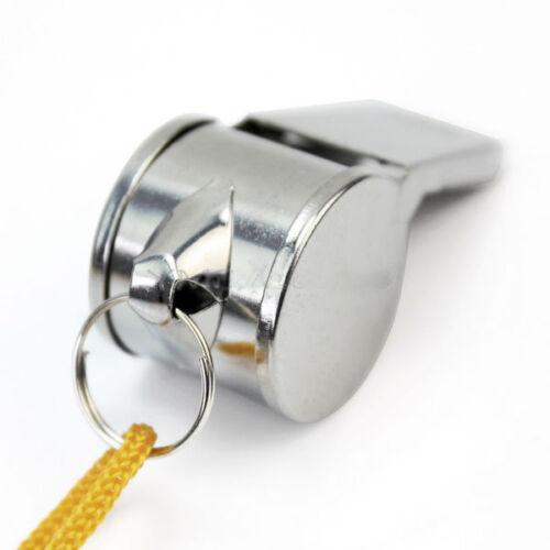 Steel Whistles x2 Sport Emergency Survival Dog Training UK Seller