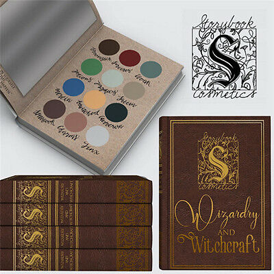 12 Color Harry Potter Eyeshadow Shimmer Glitter Matte Eye Shadow Cosmetics New