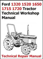 Ford 1320 1520 1650 1715 1720 Tractor Technical Workshop Manual