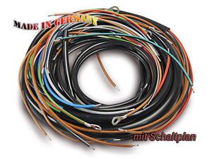 MZ-MUZ-faisceau-cables-ES125-ES150-Vis-de-contacts-avec-schema-Cable-equipe