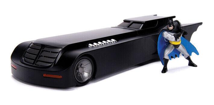 Animated Batman Figure & Batmobile
