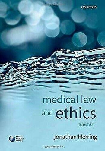 Medizinischen Karina Law und Ethics By Herring,