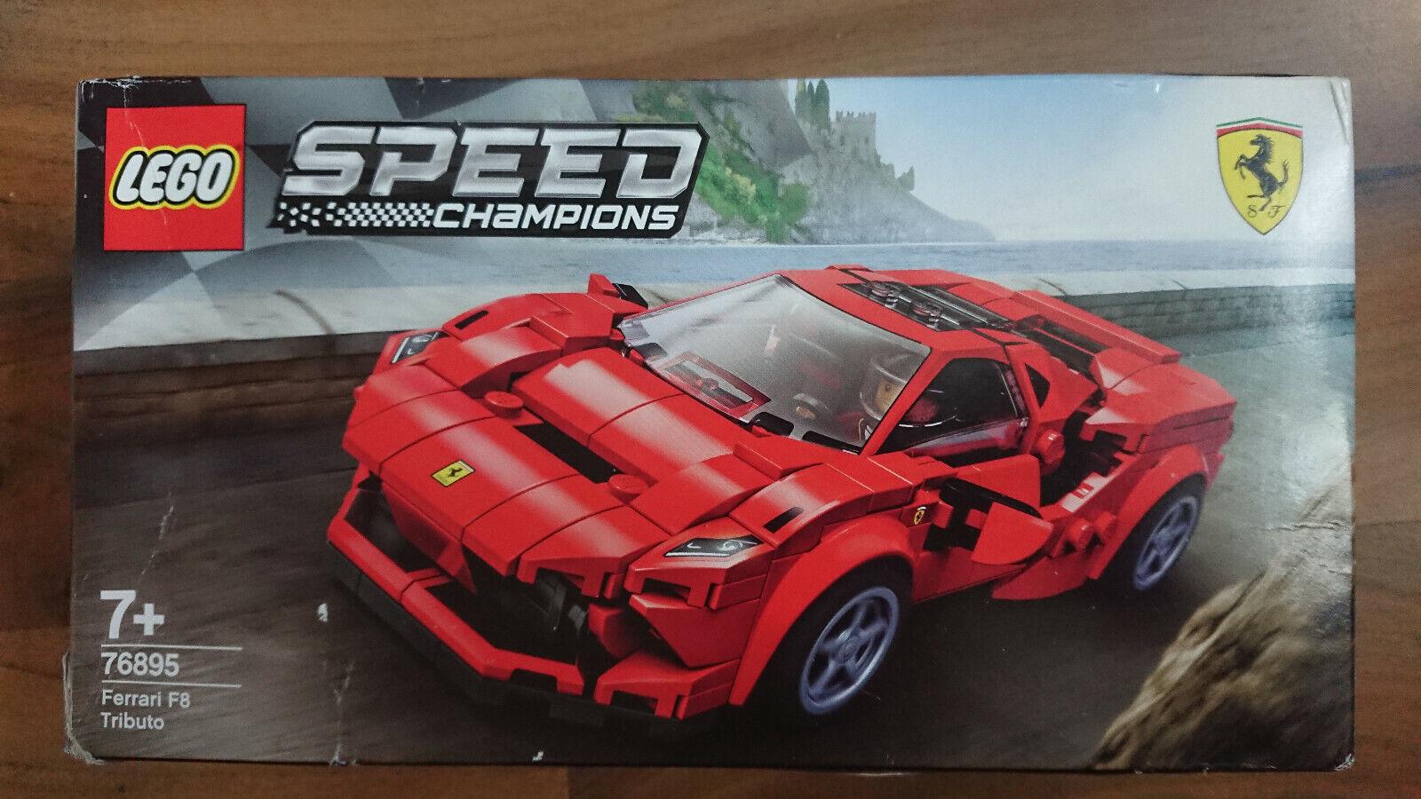 Lego Speed Champions Ferrari F8 Tributo 76895 Günstig Kaufen Ebay