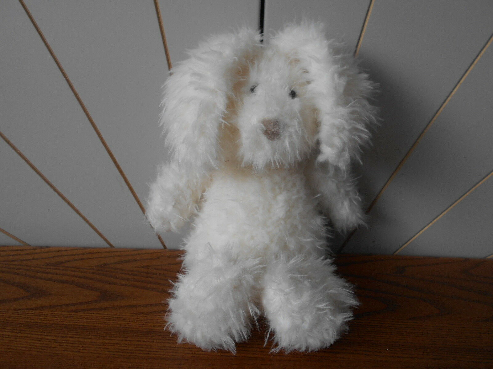 STO Medium Angora Bunny Beanie Soft Toy Jelly cat JellyCat Jelly 2473 Coniglio