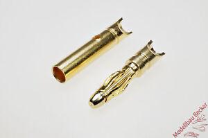 10-Paar-2-mm-Goldsteckverbinder-mit-Loethalbschale-Stecker-Buchse