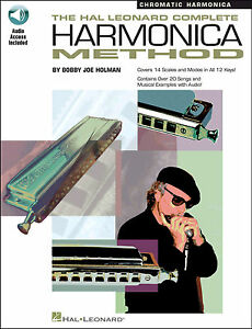 Complete-Harmonica-Chromatic-Book-amp-Audio-Download-Learn-How-To-Play-Mouth-Organ