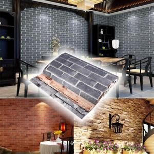 3d tapete wandtapete steinwand steinoptik steintapete 3 farben wandaufkleber dhl ebay. Black Bedroom Furniture Sets. Home Design Ideas