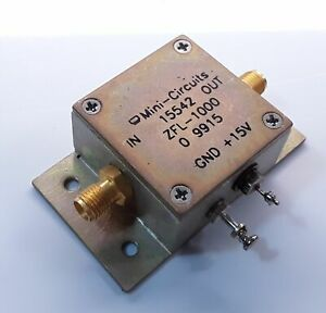Mini-Circuits-ZFL-1000-Coaxial-Low-Power-Amplifier-Rf-SMA-0-1-1000-Mhz