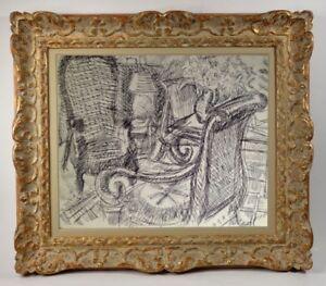 Vernhes-xx-painter-Ecole-lyonnaise-artwork-painted-scene-d-039-interieur-73