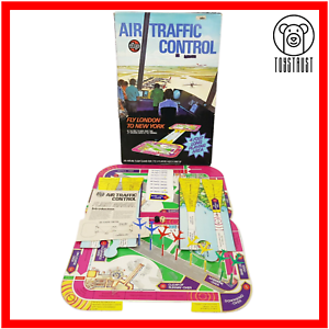 Airfix-Air-Traffic-Control-Vintage-Educational-Board-Game-Retro-Flight-Game-1975