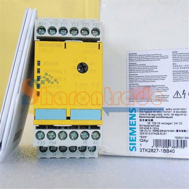 1PC SIEMENS 3TK2827-1BB40 Safety Relay New