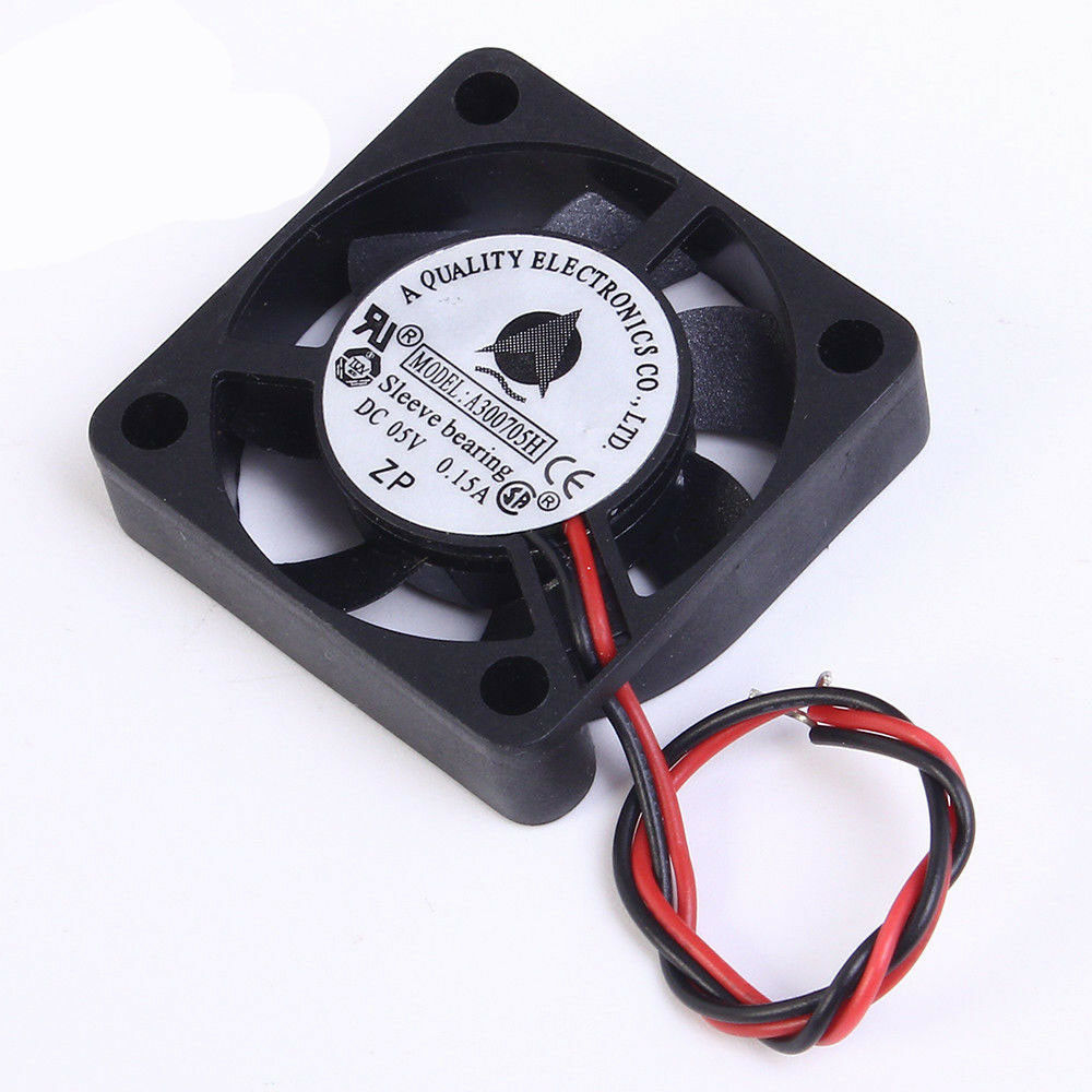 5pcs 30mm Brushless DC Cooling Fan 30x30x6mm 3006 5V 2pin Connector US