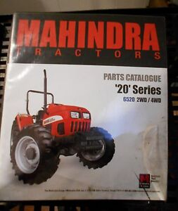Details about Mahindra Tractor Parts Catalog 20 Series 6520 4WD Models on