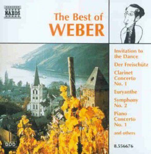 1 of 1 - Weber, C.M. Weber Von - Best of Weber [New CD]