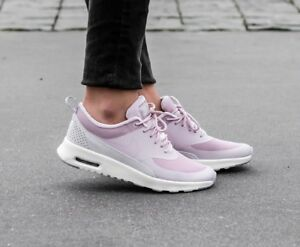 Details about WOMENS NIKE AIR MAX THEA LX SIZE 4.5 EUR 38 (881203 600) PARTICLE ROSEVAST GREY
