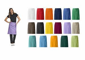 Delantal-de-panaderos-Vorbinder-restaurante-Pasador-60x80-cm-17-Colores-NUEVO