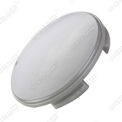 1 Universal Alloy Wheel Hubcap For Aluminium Trims - Grey Ø 60 Mm N07 Zowel De Kwaliteit Van Vasthoudendheid Als Hardheid Hebben