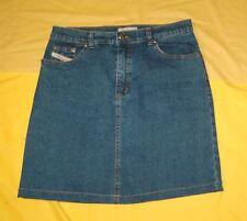Miss Eighteen Jeansrock Gr. 38 Mini Stretch Minirock Rock Jeans Sommerrock
