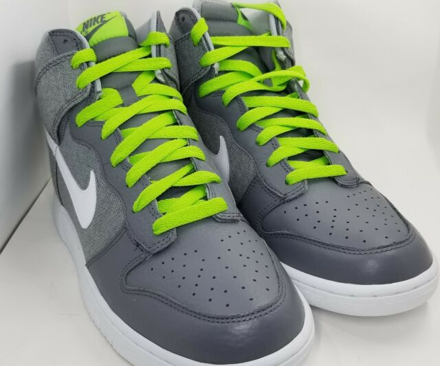 new product ab859 3b0b3 Nike Dunk High Wolf Grey White-Cool Grey Size 10 317982-045