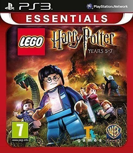 PS3 Game Lego Harry Potter Die Jahre 5-7 5 - 7 for Playstation 3 New